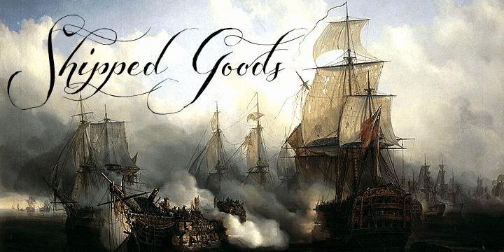 Shipped Goods шрифт скачать бесплатно
