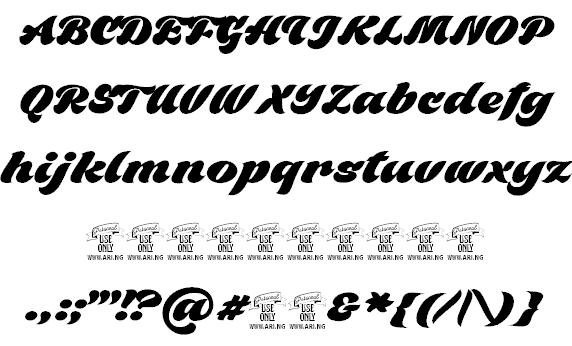 Black Fox шрифт скачать бесплатно