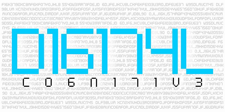 Digital tech шрифт скачать бесплатно