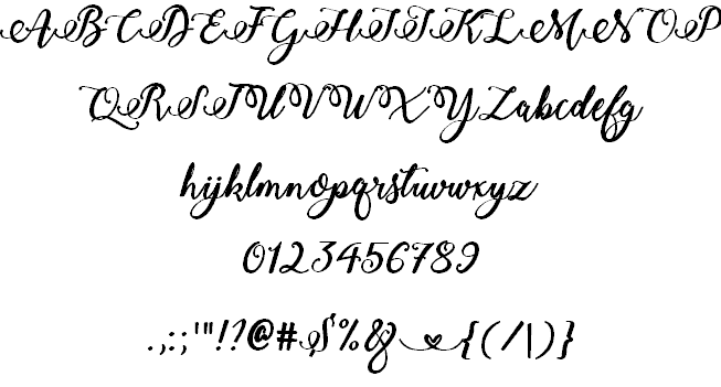 Bold Stylish Calligraphy шрифт скачать бесплатно