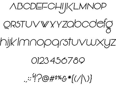 Vonique 92 шрифт скачать бесплатно
