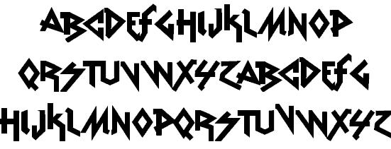 Vtks Rude Metal шрифт скачать бесплатно
