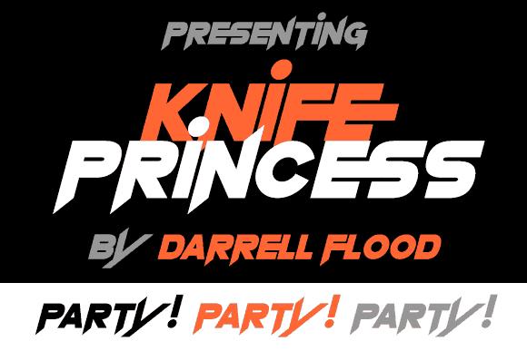 Knife Princess шрифт скачать бесплатно