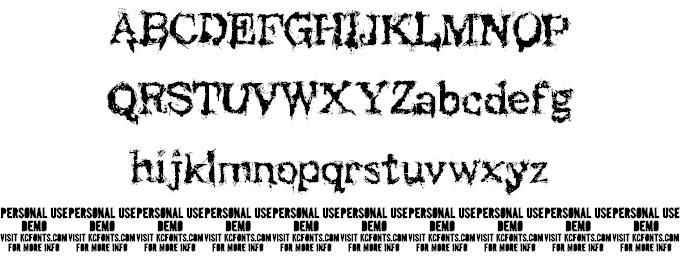 Black Asylum шрифт скачать бесплатно
