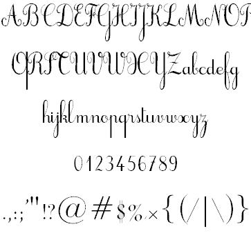Cursif шрифт скачать бесплатно