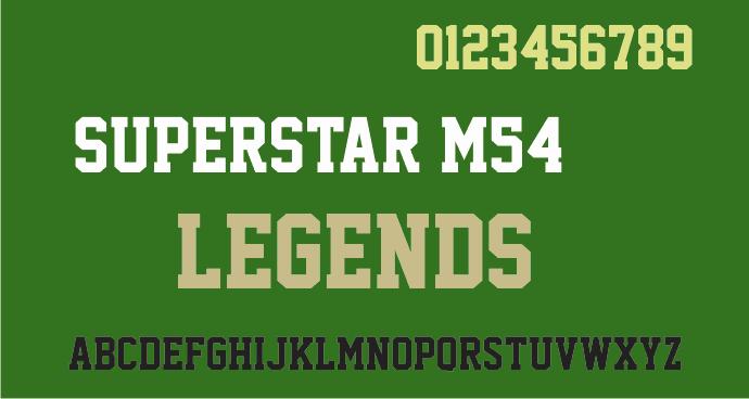 Superstar M54 шрифт скачать бесплатно