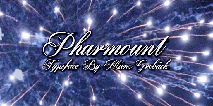 Pharmount шрифт скачать бесплатно