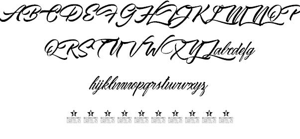 Waking Stones шрифт скачать бесплатно