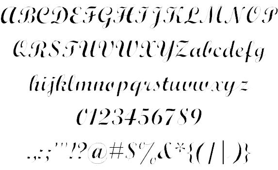Wrexham Script шрифт скачать бесплатно