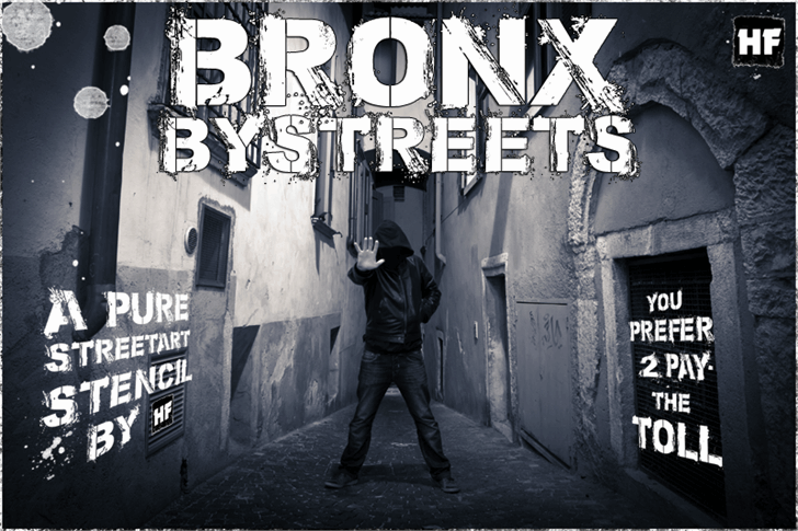 Bronx Bystreets шрифт скачать бесплатно