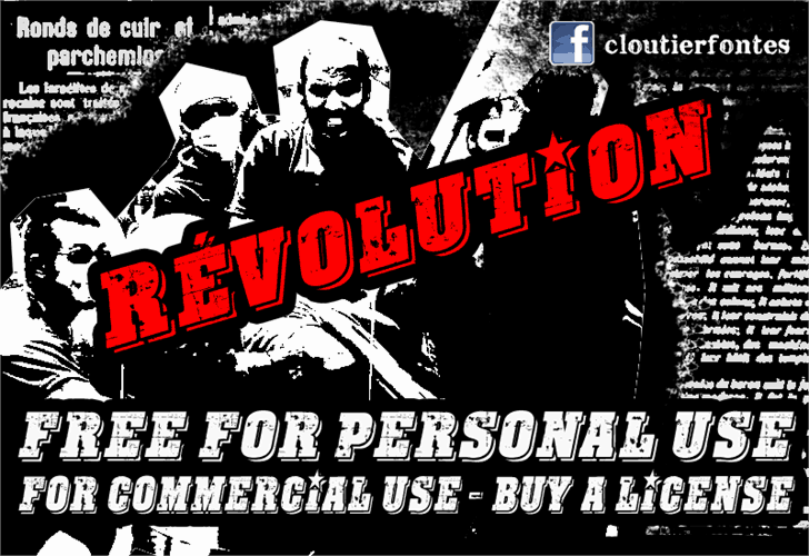 CF Revolution шрифт скачать бесплатно