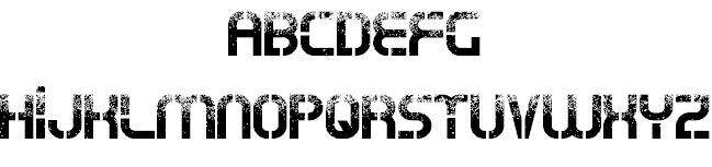 Oxin War шрифт скачать бесплатно