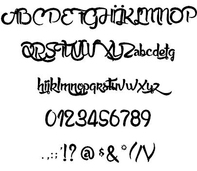 Anabelle шрифт скачать бесплатно