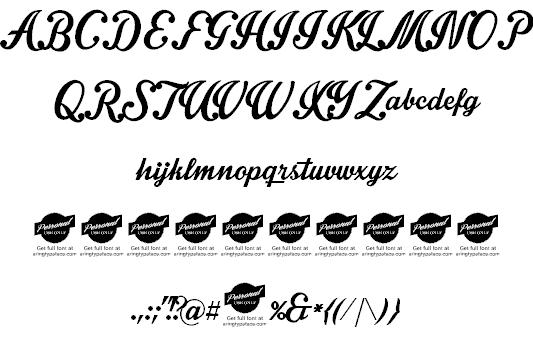 Intrique Script шрифт скачать бесплатно