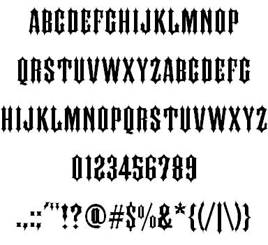 IRON FAMILY шрифт скачать бесплатно