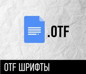 OTF FONTS